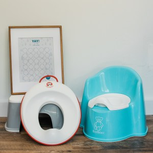Potty Training tips for twins with Baby Bjorn