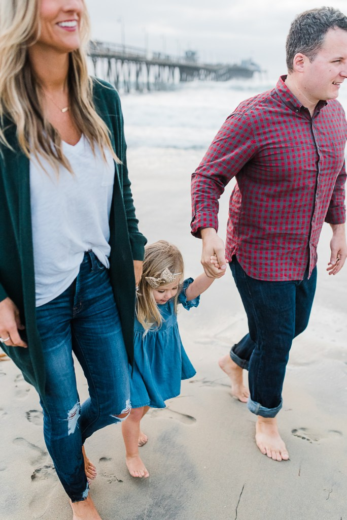 A MINI SESSION AT IMPERIAL BEACH PIER IN SAN DIEGO CALIFORNIA | THOUGHTS BY B FAMILY PHOTOGRAPHY