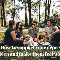 How to support your depressed teen and make them feel wanted