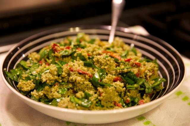 pesto & quinoa 3