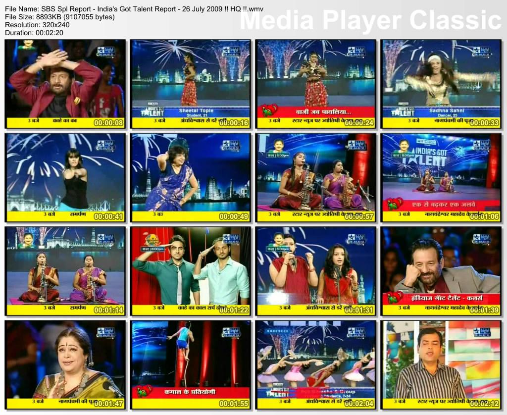 India's Got Talent snapshots
