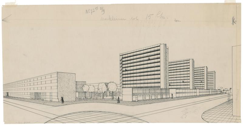 J.H. van den Broek, Competition Design for Affordable Workers' Dwellings, 1934.