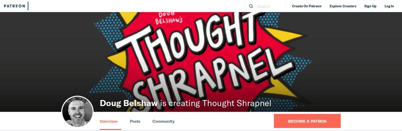 Patreon - Thought Shrapnel