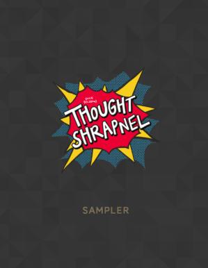 Thought Shrapnel sampler