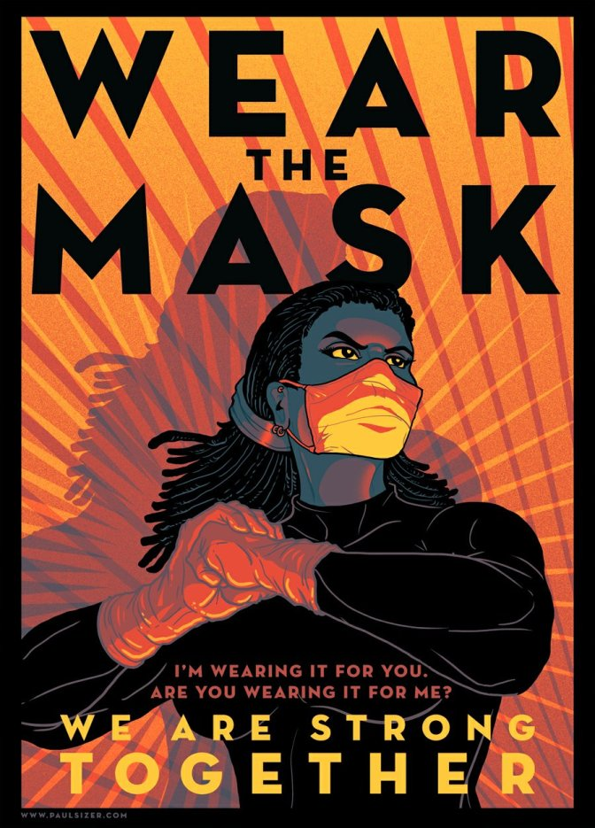 Wear The Mask poster