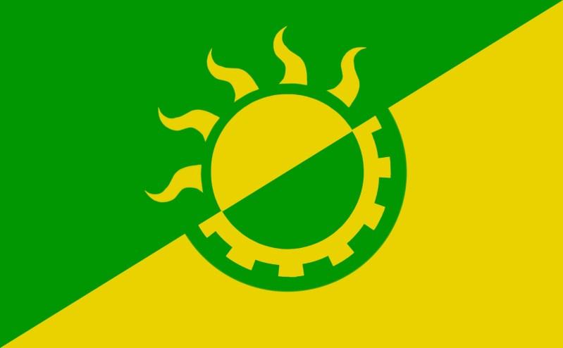 Solarpunk Flag