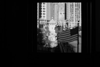A view from the McCormick Bridge House