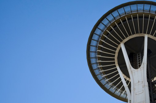 The saucer section of the Space Needle.