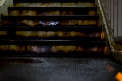 Stairs. Rust.