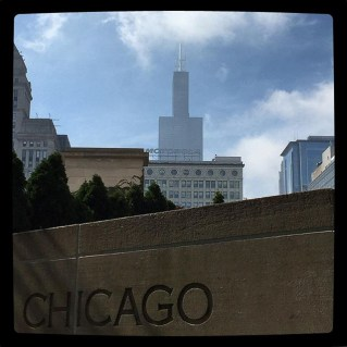 Willis Tower, from S. Michigan Ave.