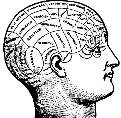 phrenology and thoughts