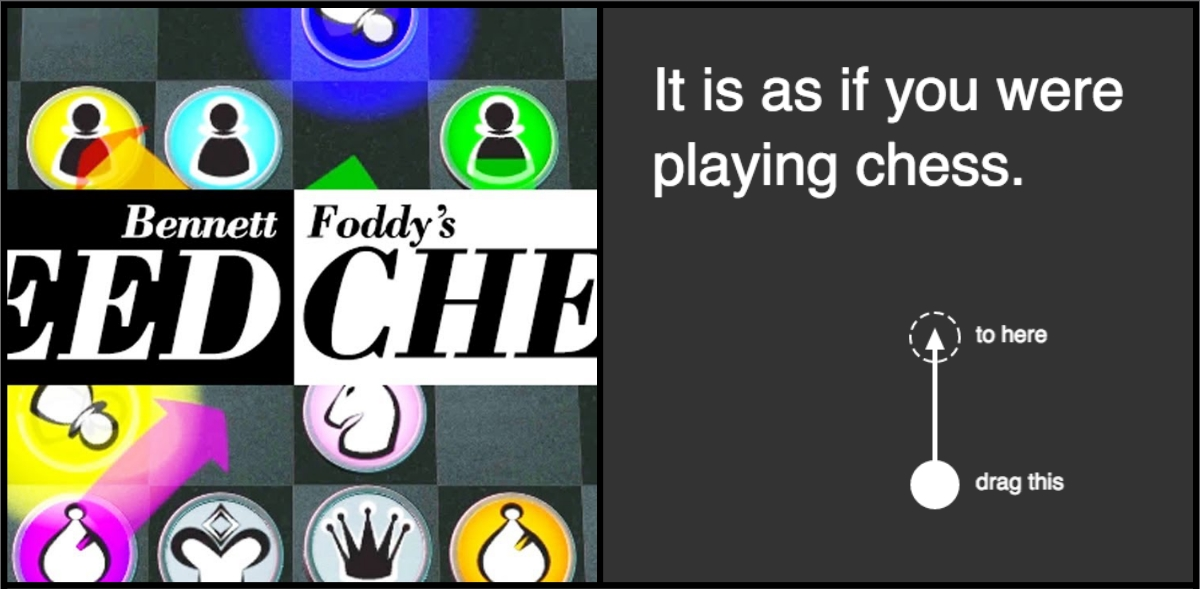 "A Look At: ""It Is As If You Were Playing Chess"" and ""Bennet Foddy's Speed Chess"""