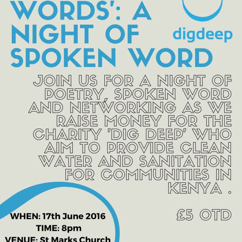 Dig Deep Spoken Word Event