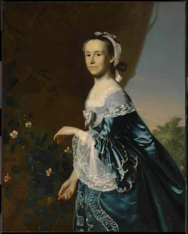 Copley's Mercy Otis Warren at the MFA