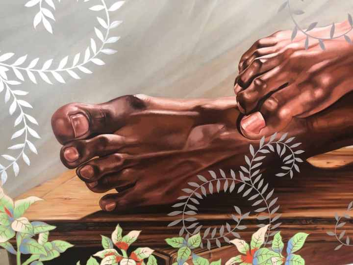 Kehinde Wiley Sleep at The Rubell Museum Miami