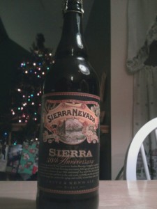 Sierra Nevada 30th Anniversary Fritz and Ken's Stout