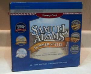 Samuel Adams Summer Styles Variety Pack