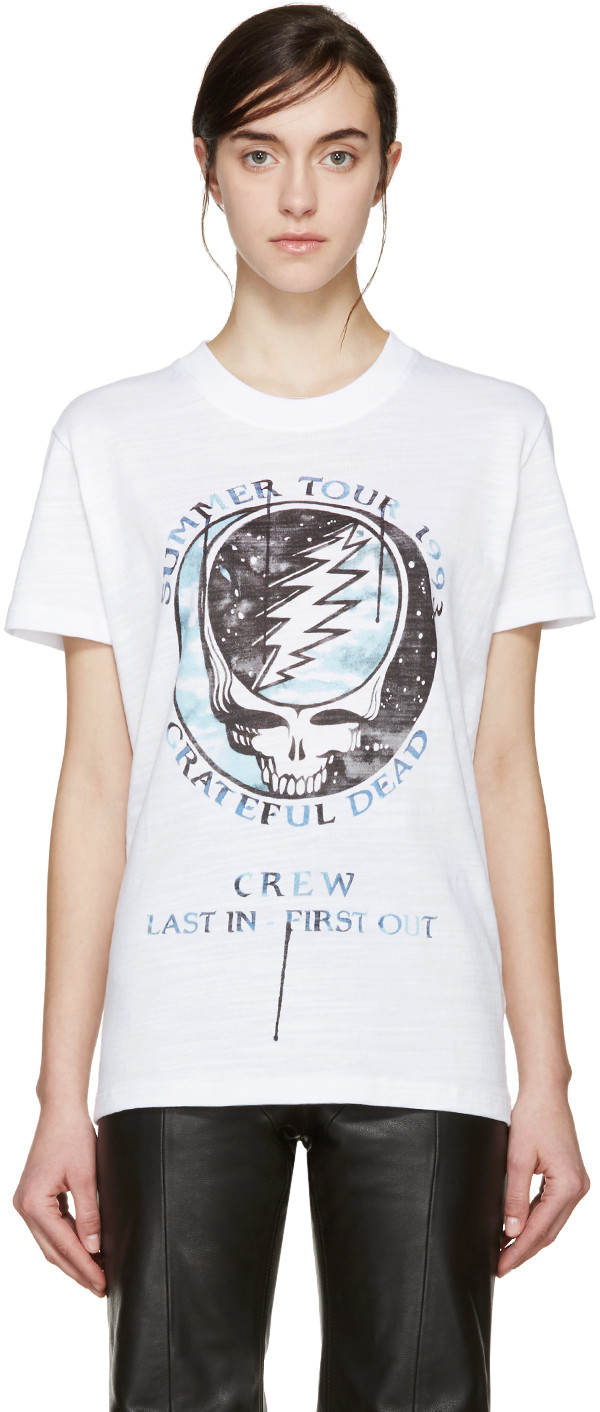 Off-White - White Grateful Dead