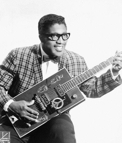 between 1955 and 1960, New York, New York, USA --- Bo Diddley --- Image by © Michael Ochs Archives/Corbis