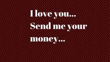 online dating sending money