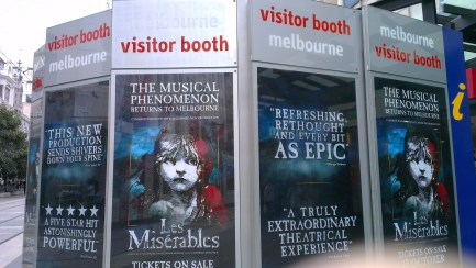 Melbourne Tourism Visitor Booth
