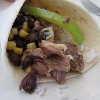 Slow Cooker Pork Carnitas (and Cilantro-Lime Rice)