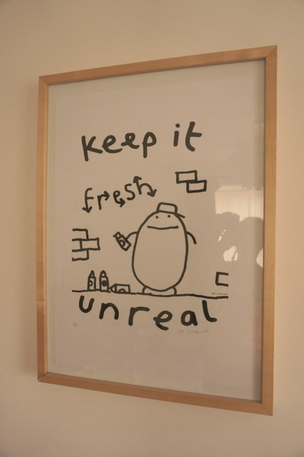Mr Scruff Framed Print
