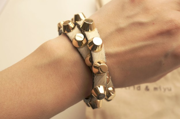 astrid and miyu studded bracelet