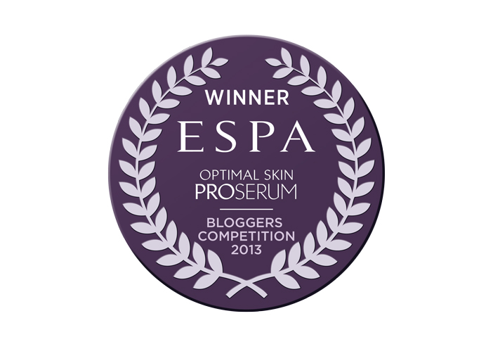 ESPA 2013 Blogger Competition Winner logo