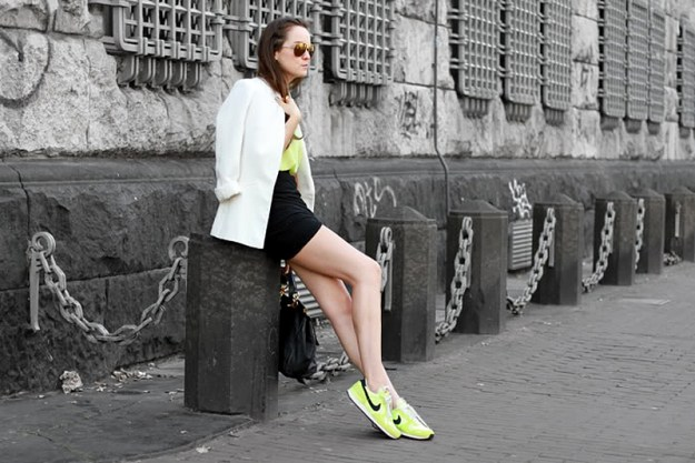 fashion blogger nike trainers