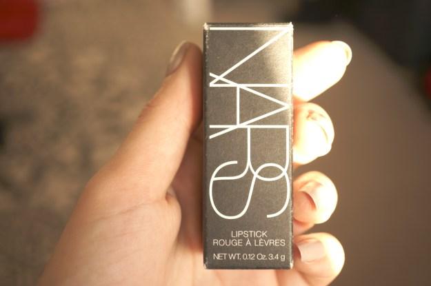 nars lipstick box