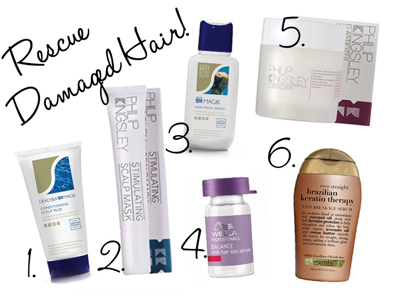 Rescue Your Damaged Hair!