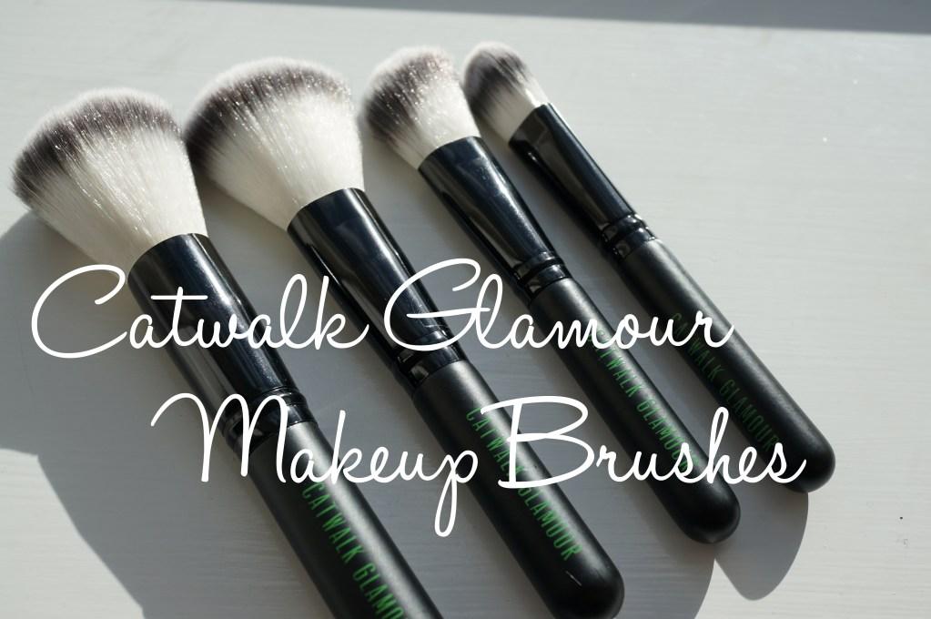 Catwalk Glamour L'ensemble Noir Professional Makeup Brush set