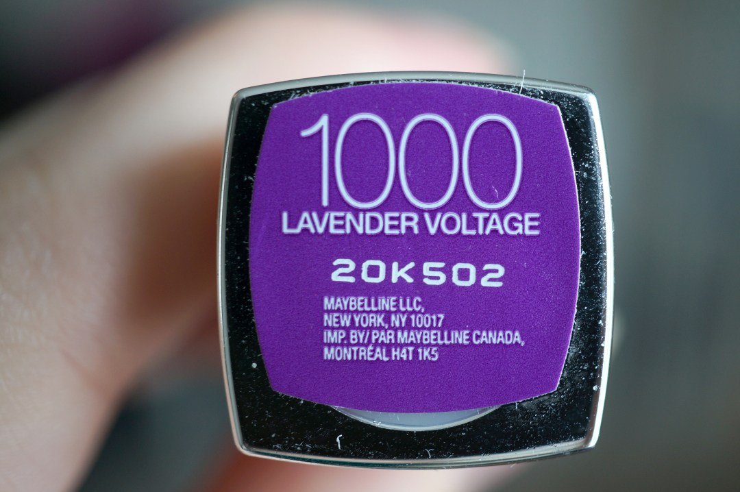 1000 lavender voltage
