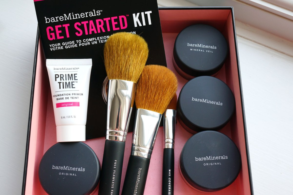 Bare Minerals Get Started Kit in Medium | Review