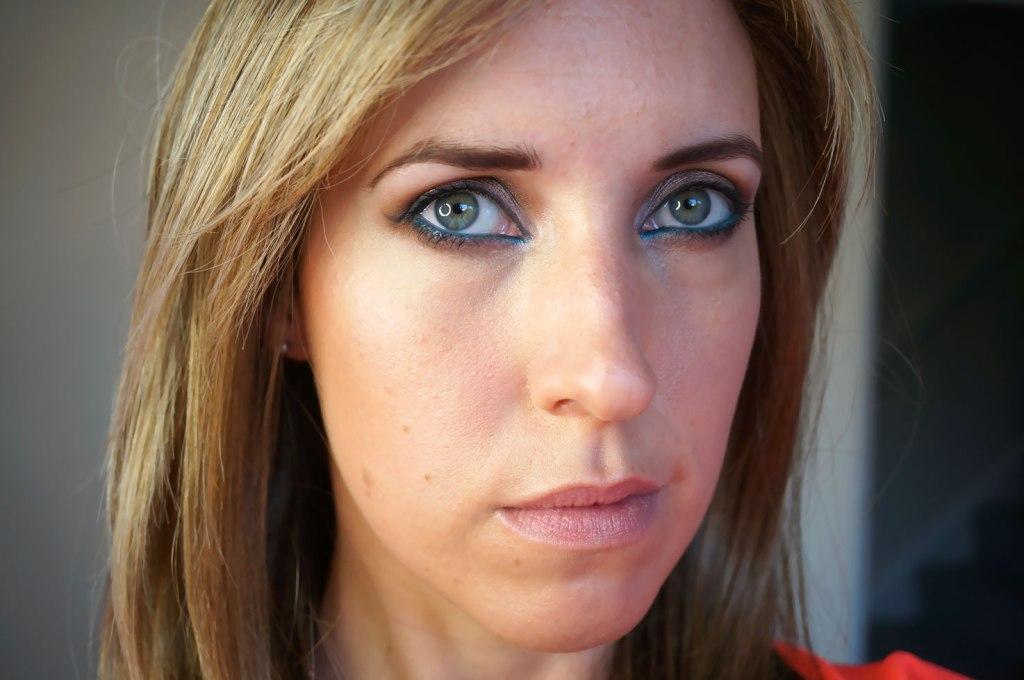 My Blue Eyeliner Summer Look!