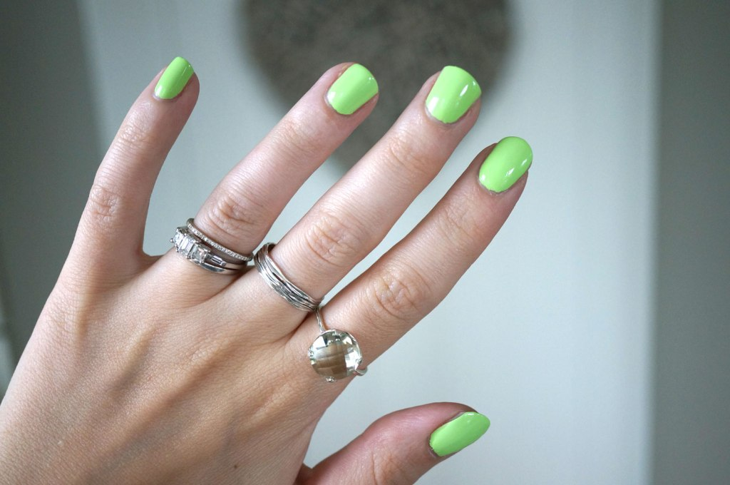 Lime Crime Pastelchio Nail Polish & Pia Jewellery | NOTD & Review