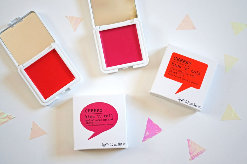 NEW Cheeky Kiss & Tell Lip & Cheek Tints!