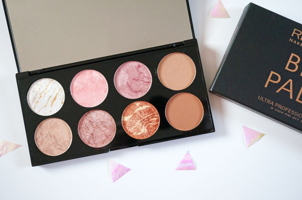 NEW Makeup Revolution Blush & Contour Palette in Golden Sugar