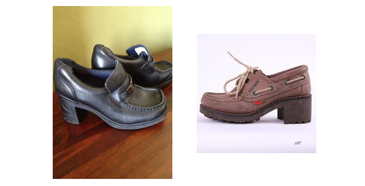pod and kickers 90s shoes