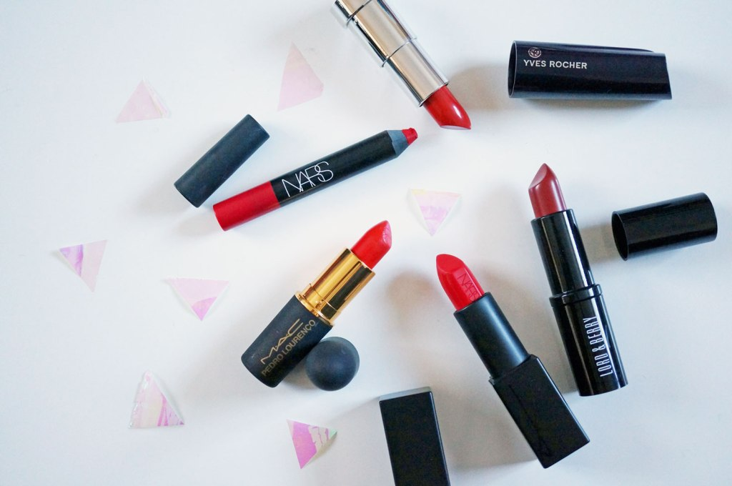 My Top Five Red Lipsticks for Christmas!