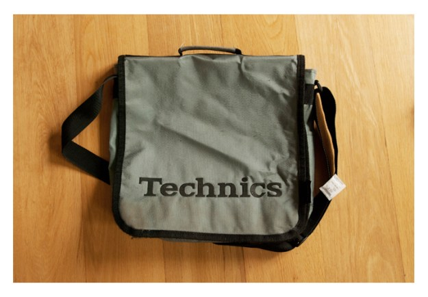 technics 90s record bag