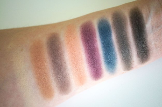 makeup-revolution-iconic-pro-2-palette-matte-swatches