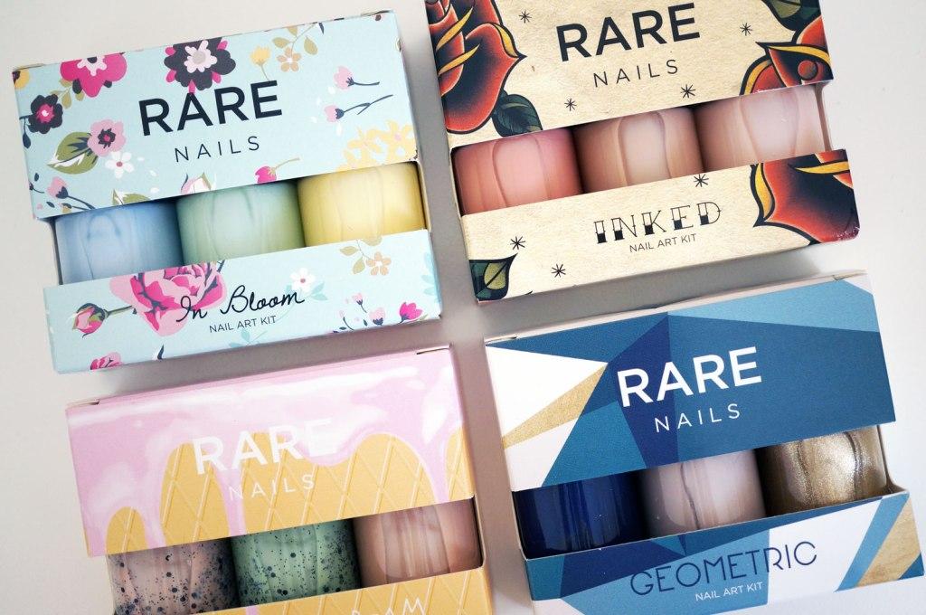 Rare Nails Nail Art Transfer Sets