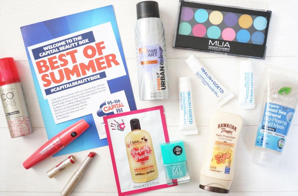 Latest In Beauty – Capital FM Best Of Summer Beauty Box