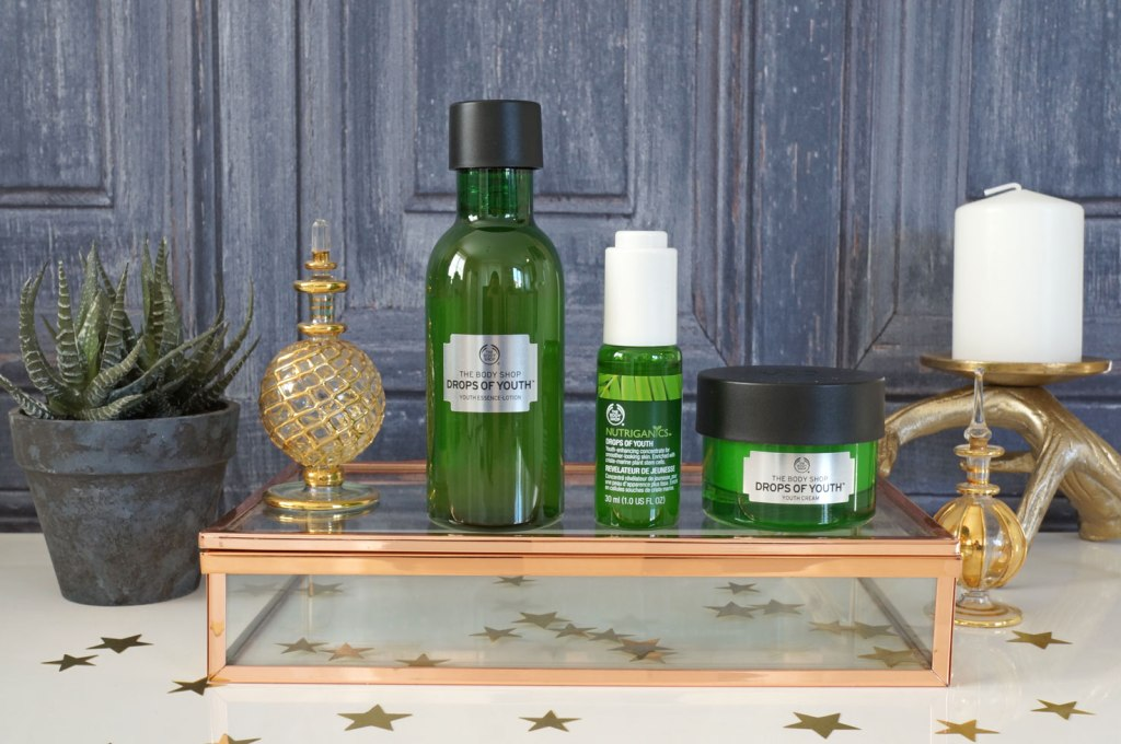 New From The Body Shop: Drops of Youth