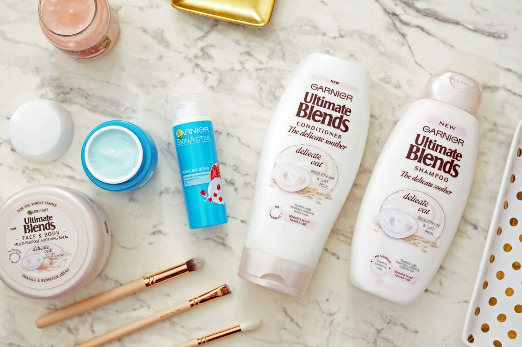New Garnier Moisture Bomb & Ultimate Blends Ranges