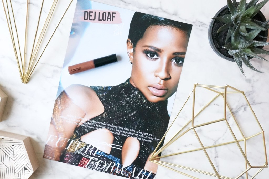 MAC Future Forward: Dej Loaf Lipglass