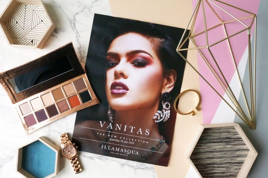 Illamasqua Limited Edition Vanitas Collection – Rose Gold Palette
