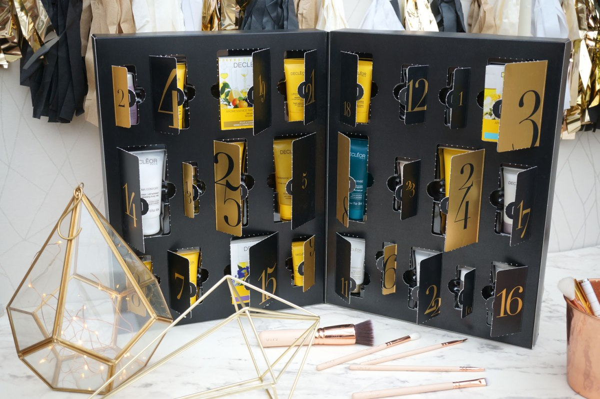 Christmas: Decleor Skincare Advent Calendar 2016
